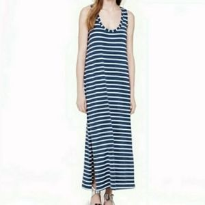 🆑J. Crew XXS, Side Slit Striped Maxi